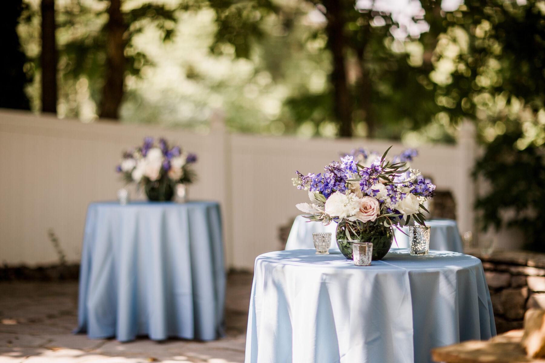Outdoor garden wedding at CJ's Off the Square   Nashville Bride Guide