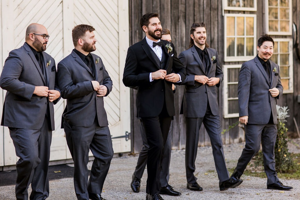 Groomsmen wedding portrait   Nashville Bride Guide