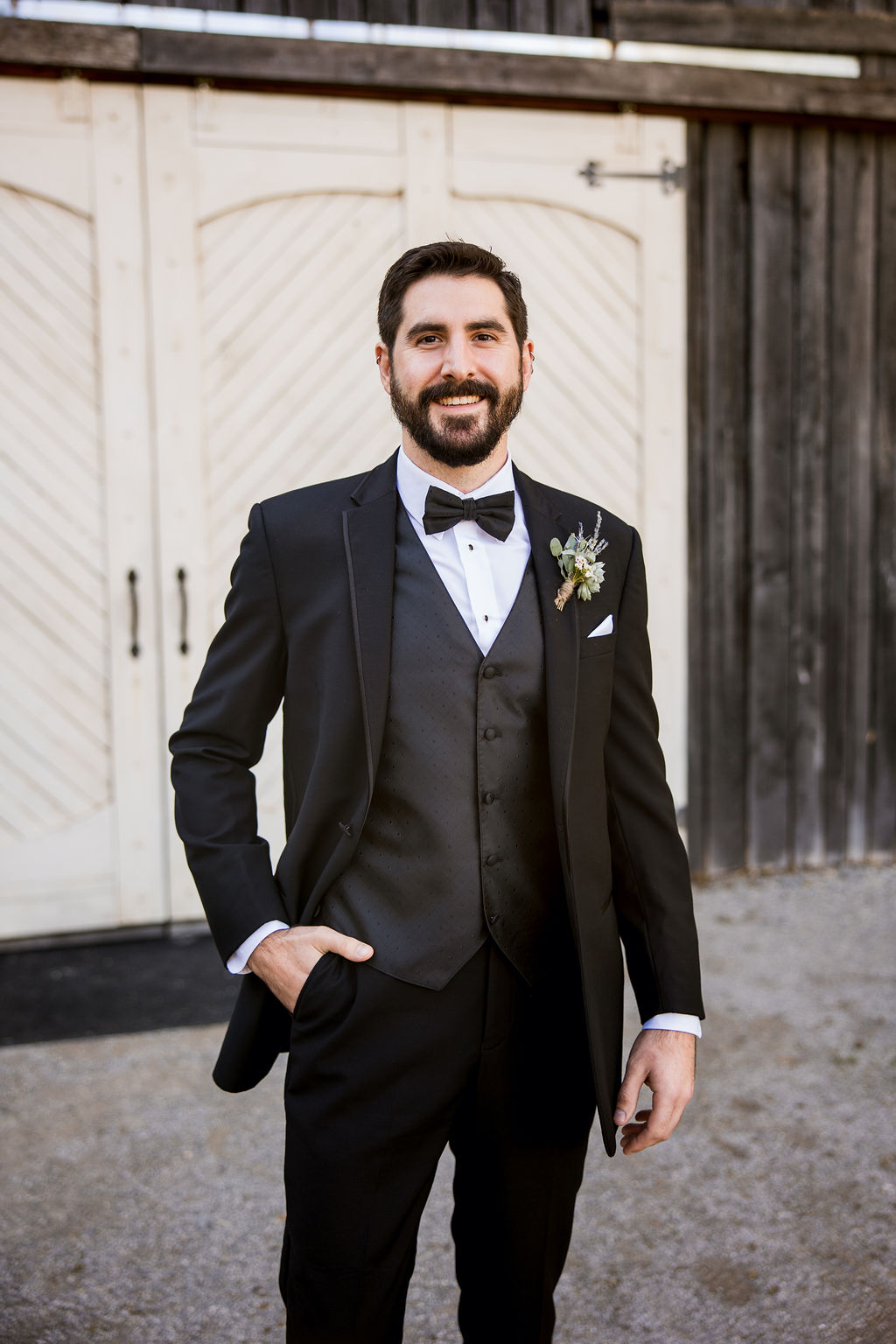 Classic black wedding tuxedo   Nashville Bride Guide