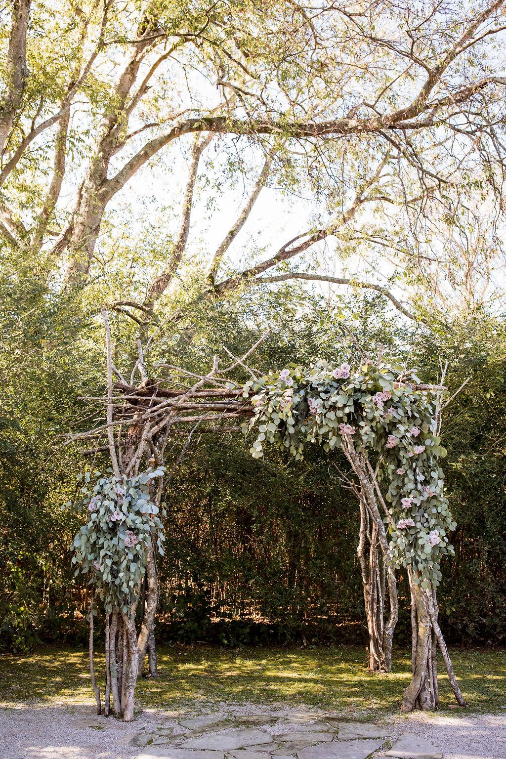 Outdoor wedding ceremony backdrop   Nashville Bride Guide