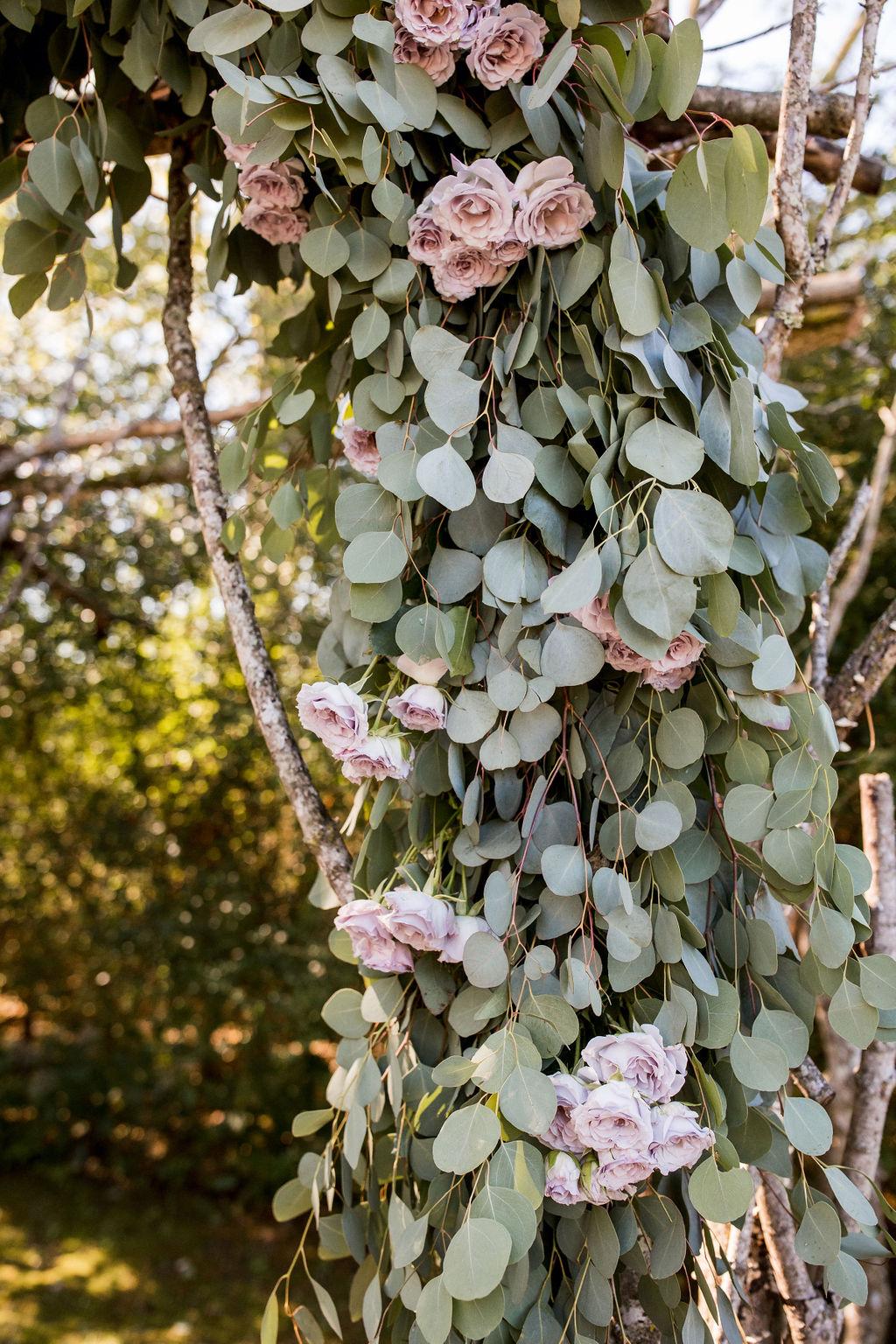 Lavender and Eucalyptus wedding ceremony decor   Nashville Bride Guide