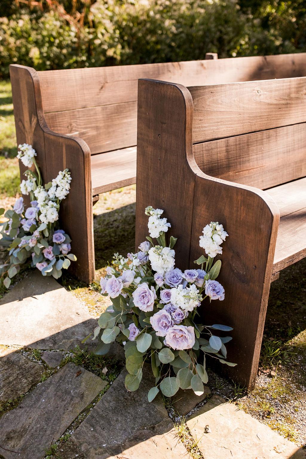 Outdoor wedding ceremony decor   Nashville Bride Guide
