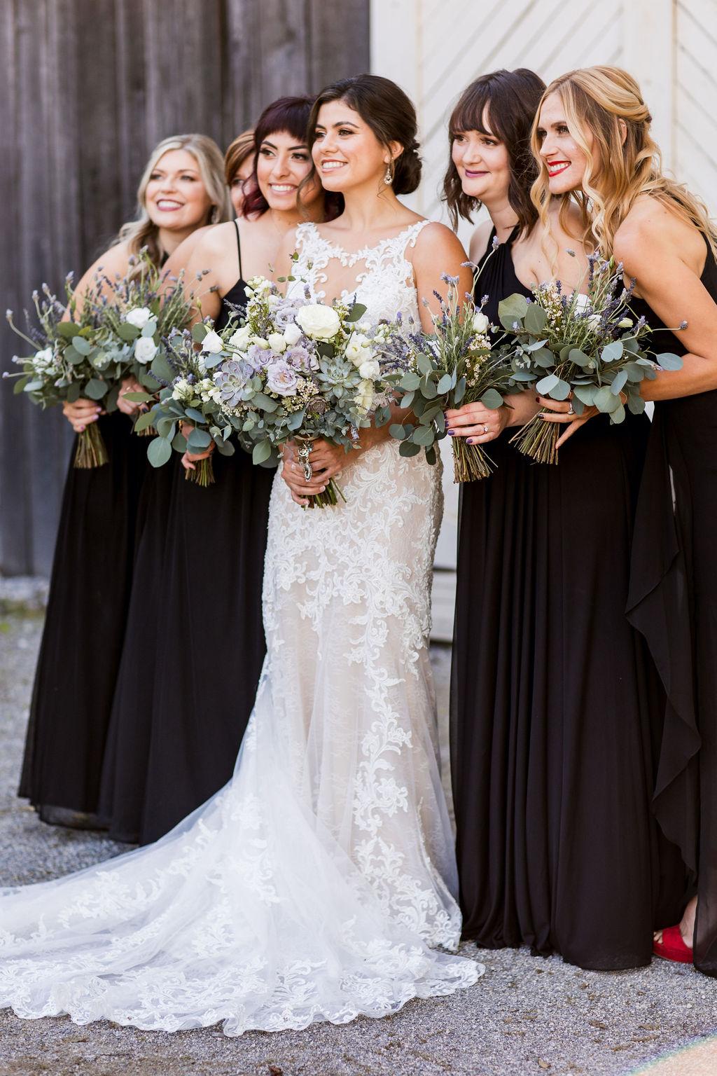 Black bridesmaid dresses   Nashville Bride Guide