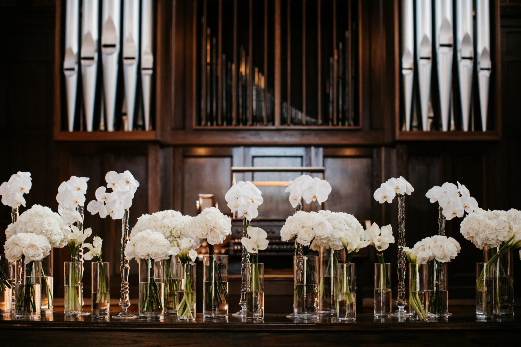 White Ceremony Flowers | Nashville Bride Guide