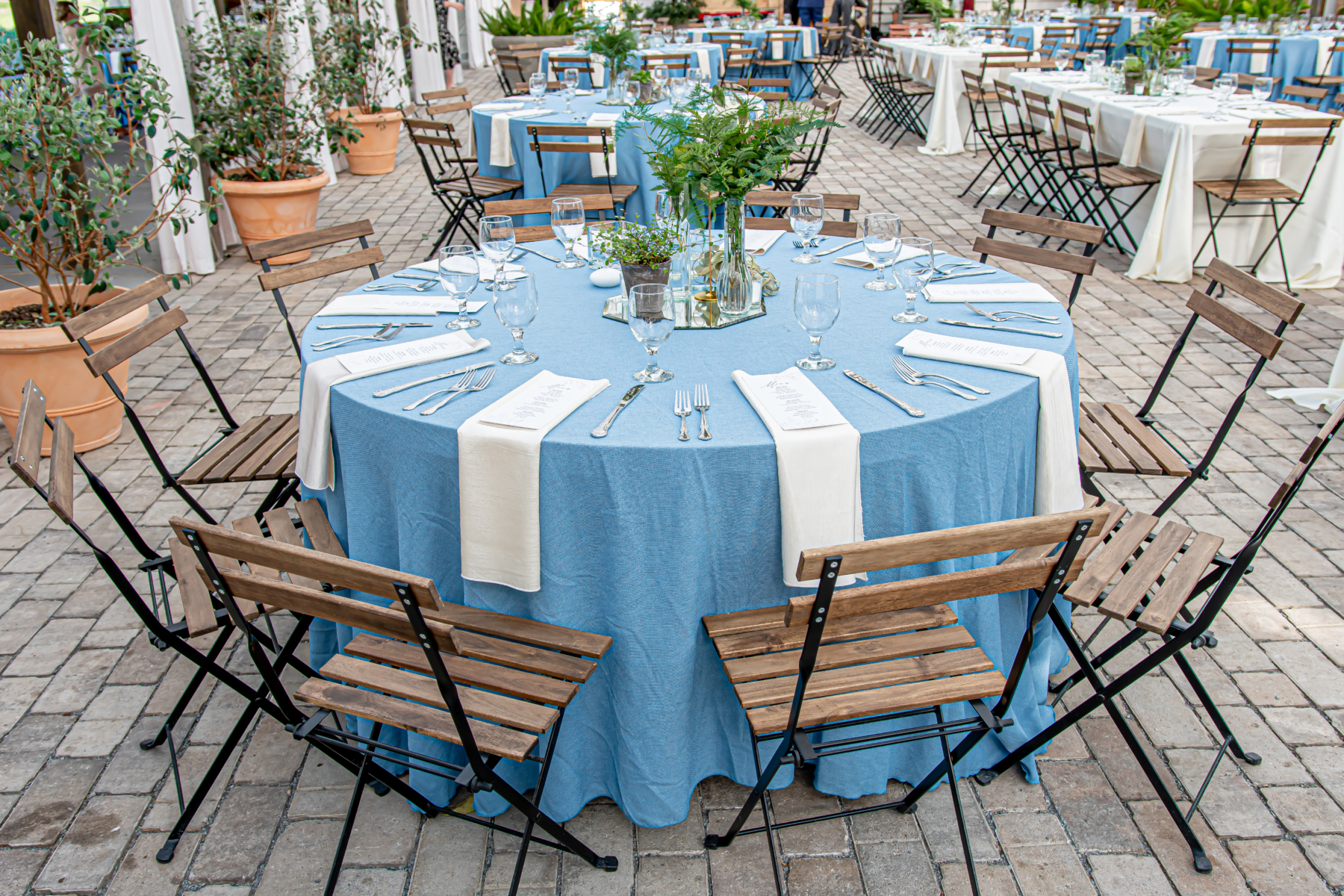 Bistro wedding table chair
