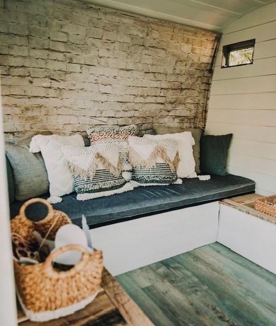 Happy Camper Photo Lounge at Burdoc Farms