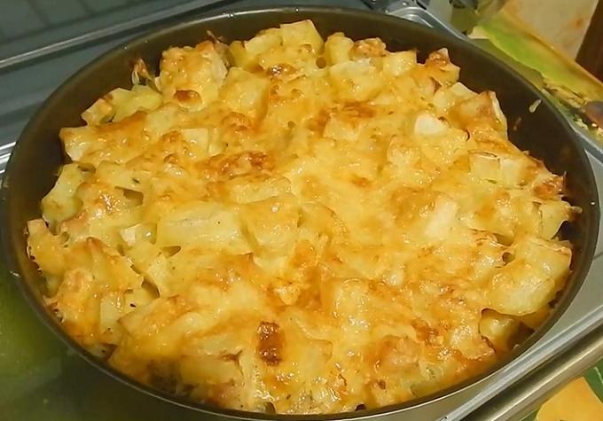 Petto di pollo pronto con patate