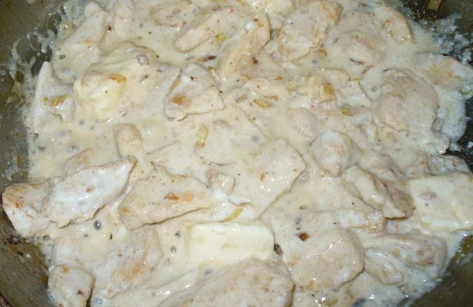 Piatto pronto - Filetto di pollo al forno in panna acida