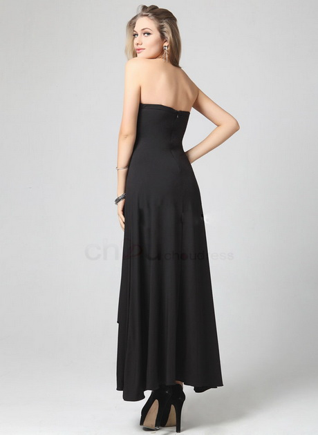 Black Evening And Wear Size Plus White