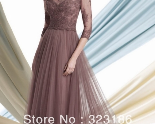 Long gowns for wedding guest