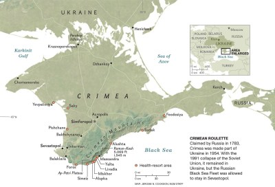 History of Crimea in Six Maps – National Geographic ...