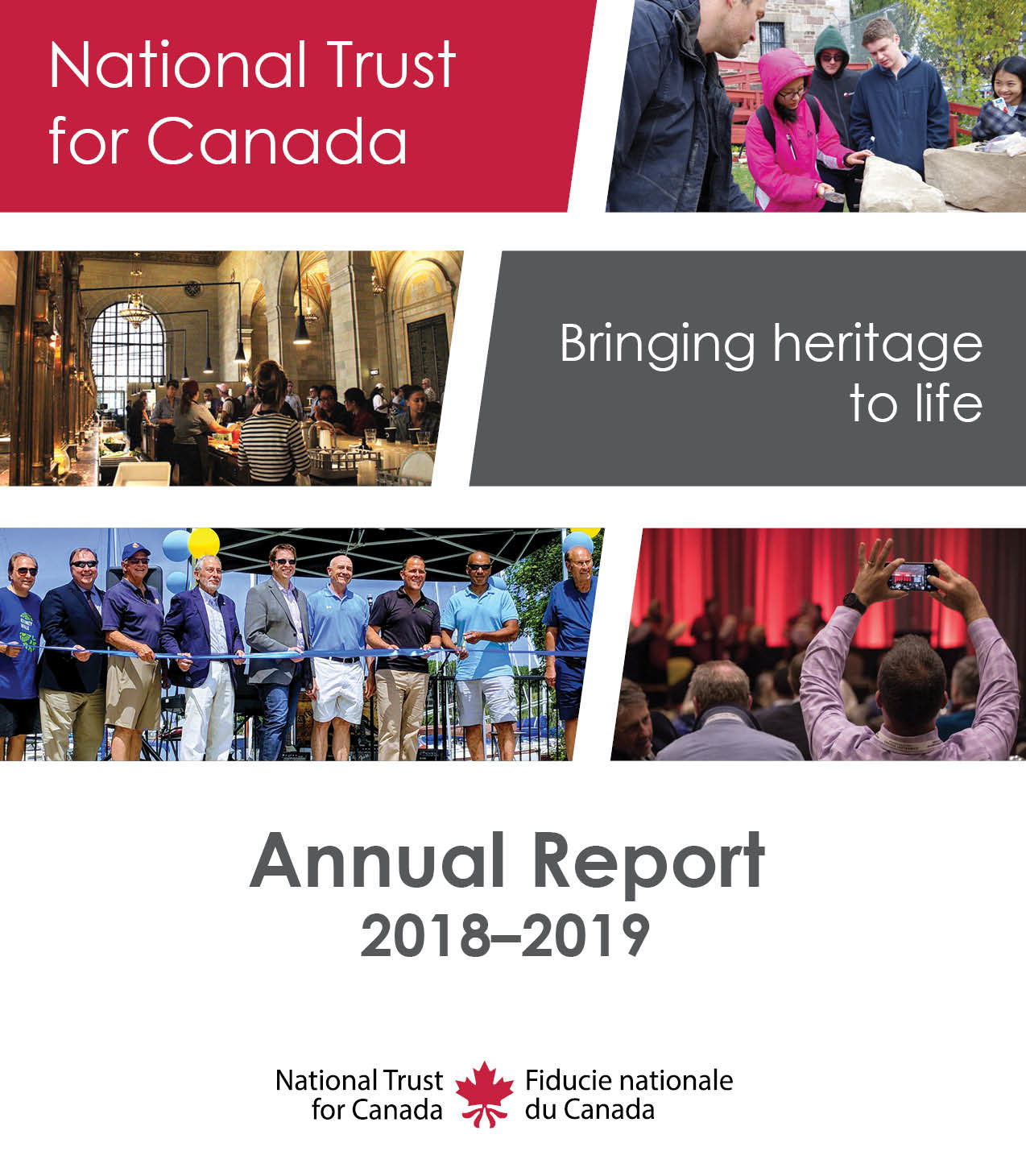 ANNUAL REPORT 2018-2019 - National Trust for Canada