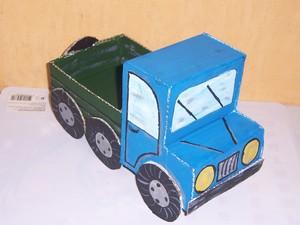 Өз қолыңызбен картон машинасы