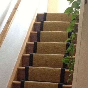 Carpet Stair Runner Gallery | Stair Runners With Borders | Beige | Unique | Wallpaper | Forest Green | Elegant