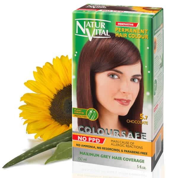 Natural Light Brown Hair Dye