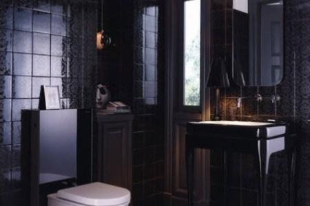 Beste Interieur Ontwerp » zwarte tegels badkamer   Interieur Ontwerp