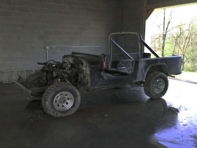 1986 Jeep Comanche Frame