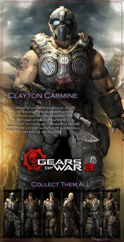 Marcus Gears War Action Figures