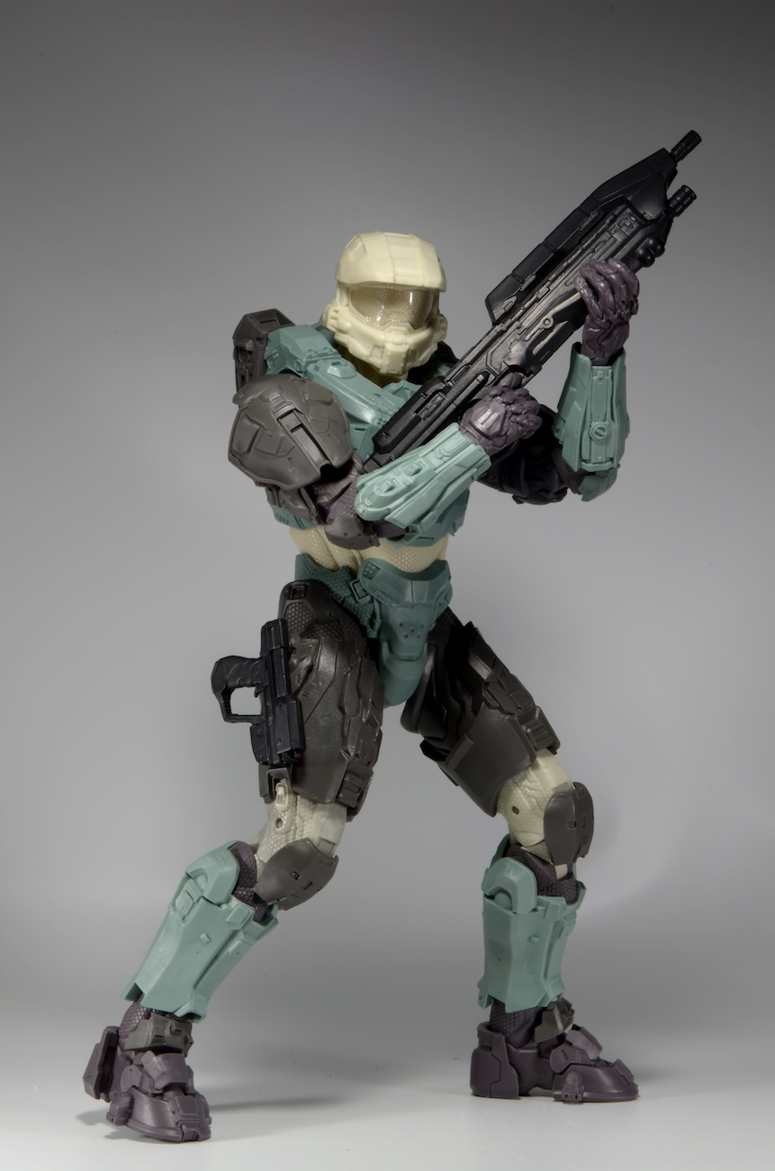Behind The Scenes Halo Master Chief 18 Action Figure Update