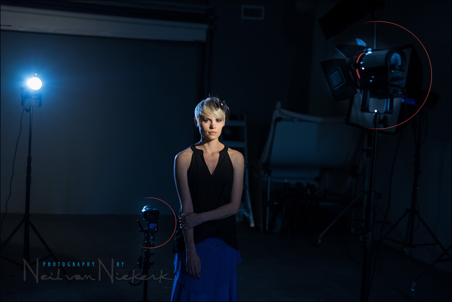 Portrait Dramatic Lighting