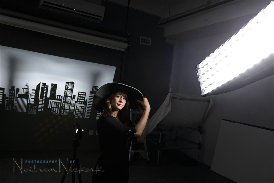 Softbox Lighting Setup