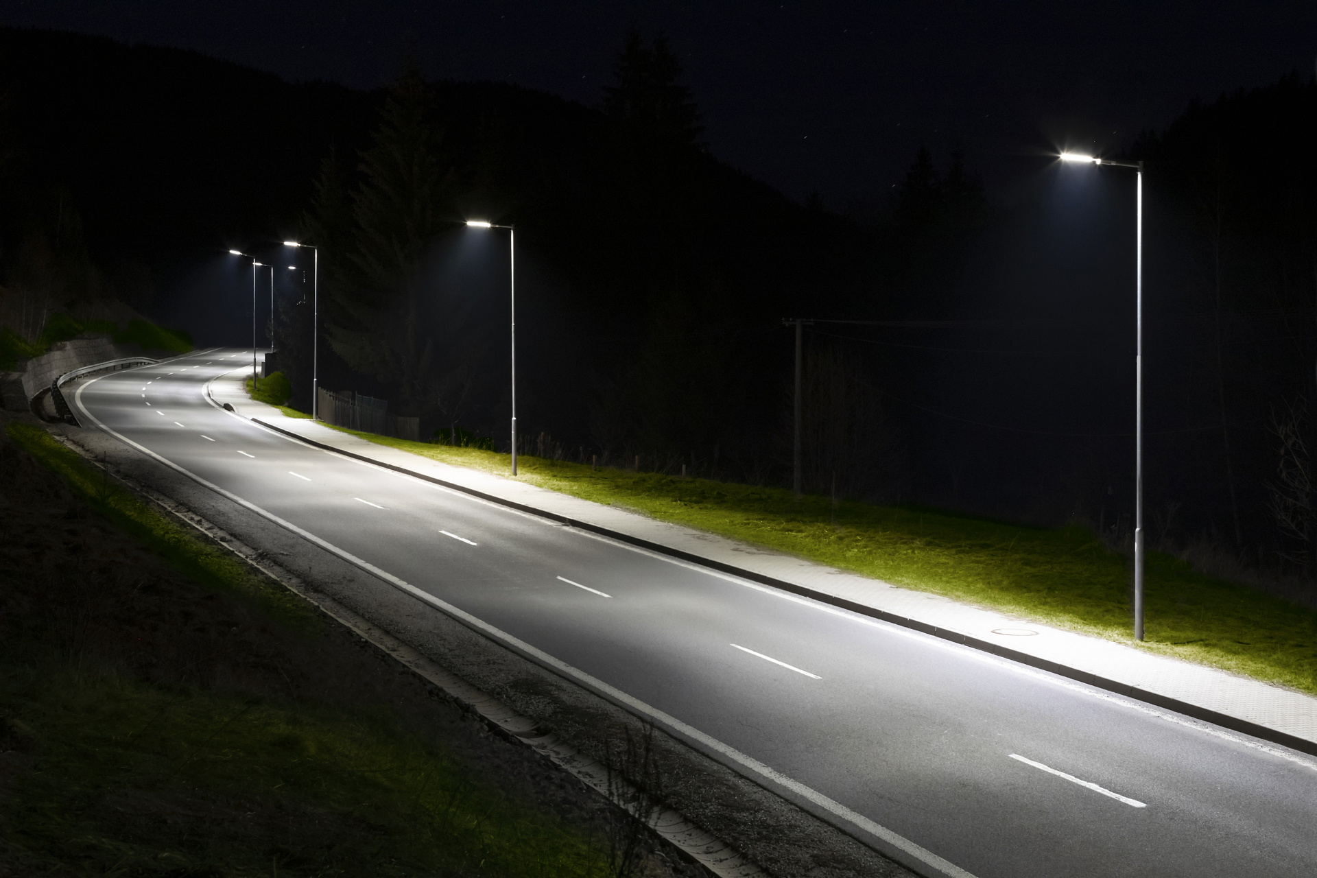 Led Street Lighting Conversion Nelson Pope