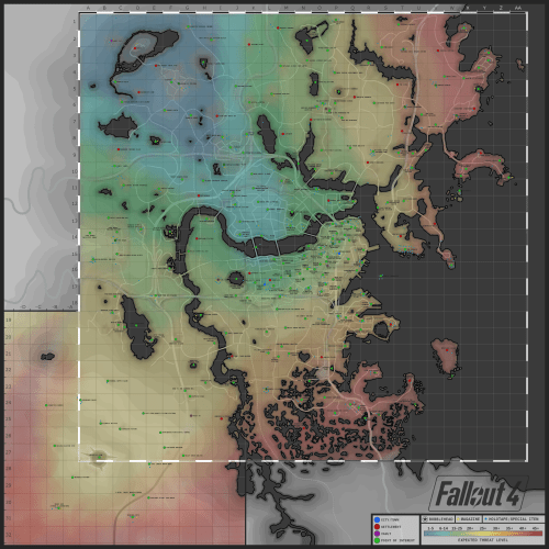 This Extremely Detailed FALLOUT 4 Map is Rad   Nerdist Fallout 4 Map