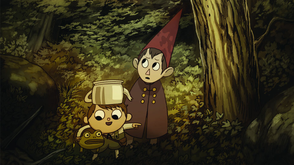 THE ART OF OVER THE GARDEN WALL Takes Us Inside the ...