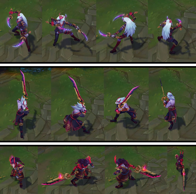 Blood moon skins league of legends