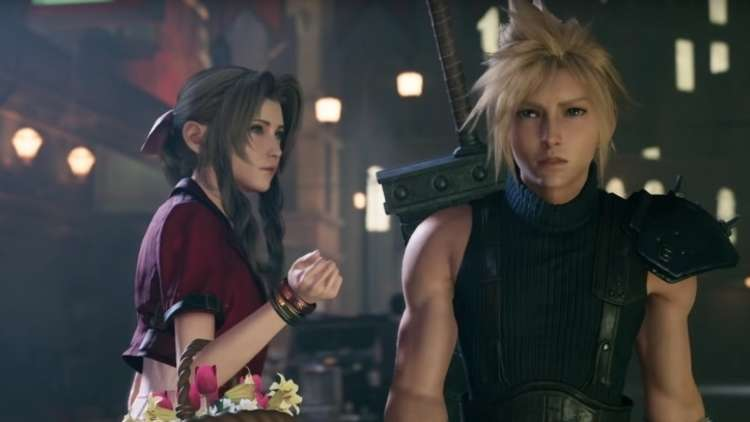 scena della demo di final fantasy vii remake