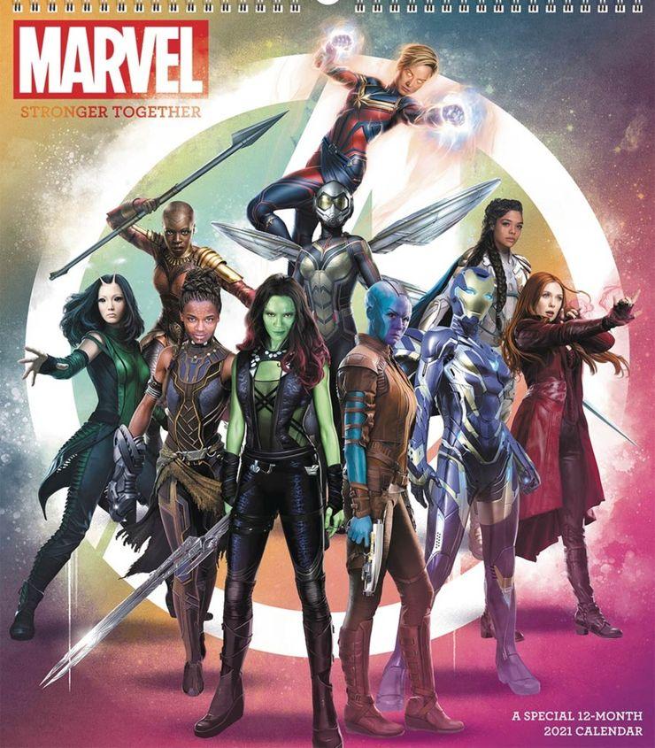 Marvel: in uscita il calendario 2021 con le eroine del MCU   NerdPool