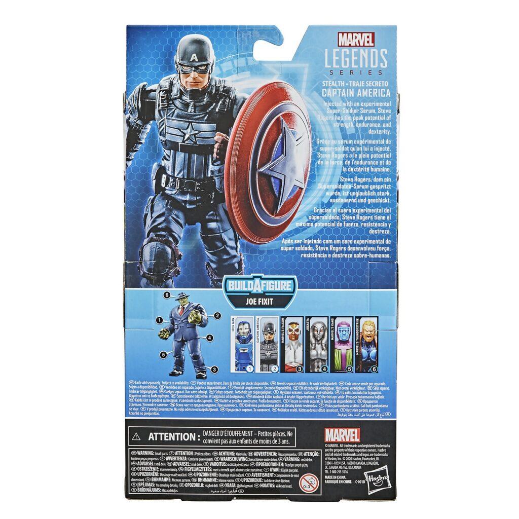 "Marvel Avengers mossa finale 6/"" CAPITAN AMERICA Action Figure Hasbro Vestito Bianco"