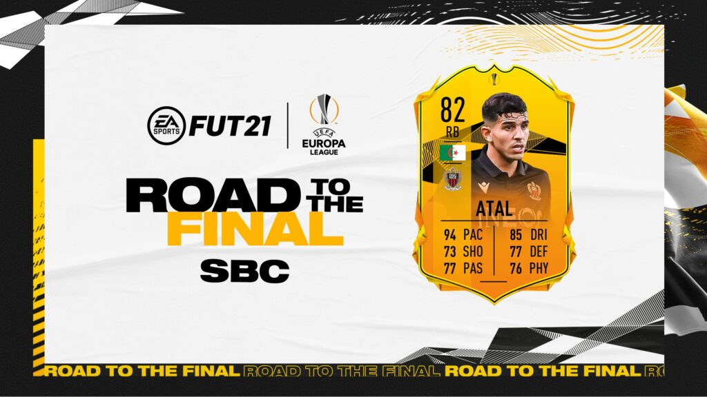 FIFA 21 - Ultimate Team - FUT - Atal Road to the final UEL SBC