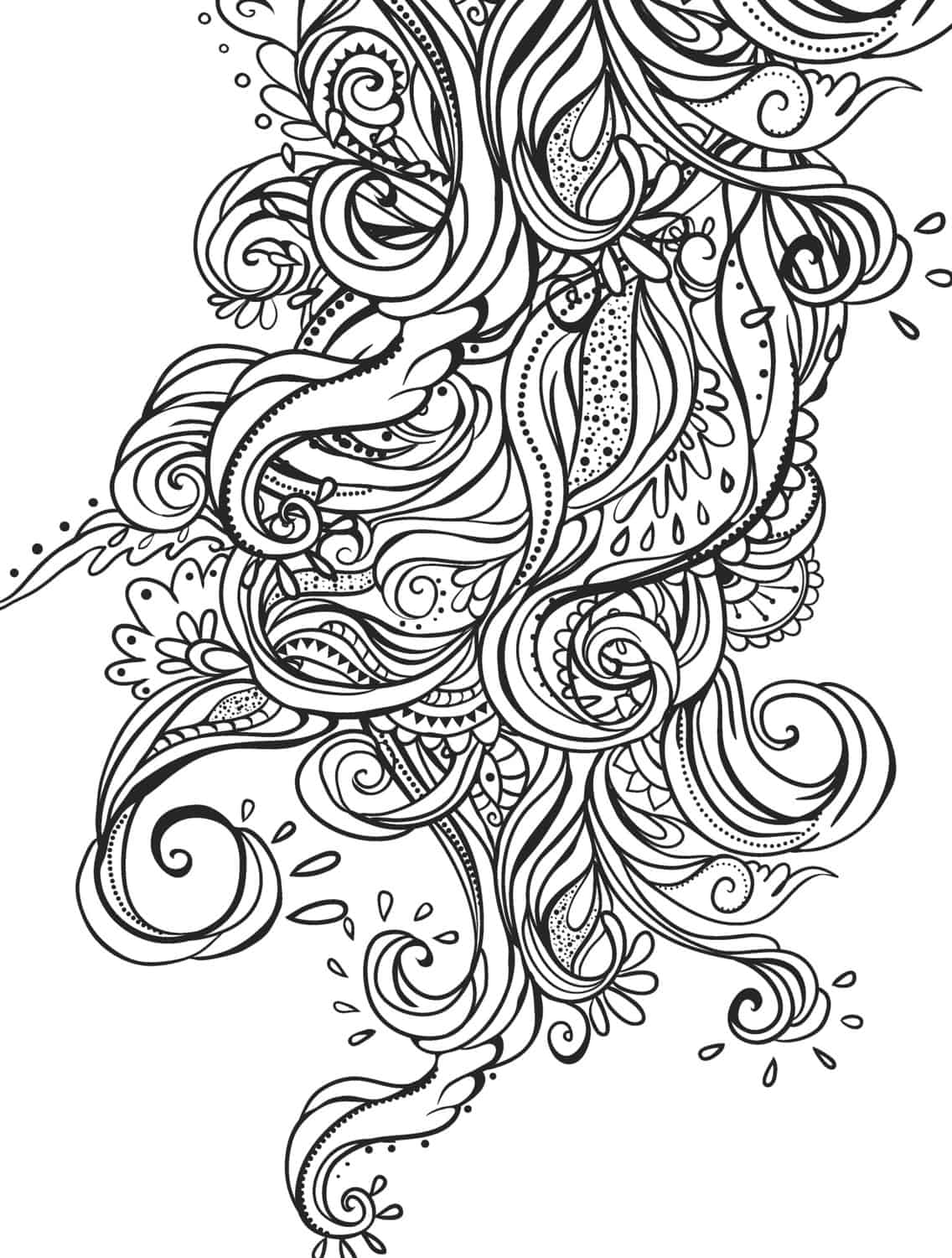 15 Crazy Busy Coloring Pages For Adults Page 5 Of 16 Nerdy Mamma