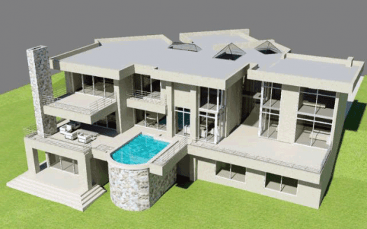 Double Storey House Plans South Africa   House Designs     House Plan M750T     6 Bedrooms
