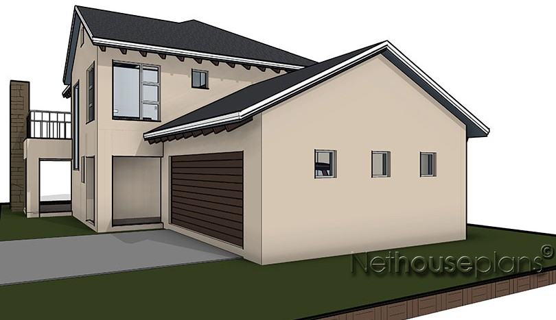 compact 3 bedroom house plan, Net house plans south africa, Traditional style house plan, 3 bedroom , double storey floor plans, house plans south africa, home designs, house designs, architectural designs South Africa