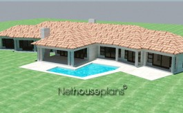 modern floor plan designer southern living house plans floorplanner peerutin architects architectural design house plans design your own house home plans craftsman house plans ranch house plans south africa, Traditional style, 4 bedroom house plan, single storey floor plans - NETHOUSEPLANS