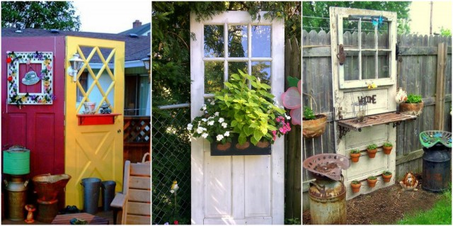 VINTAGE Gartendeko aus alten Fenstern und Türen :) - nettetipps.de