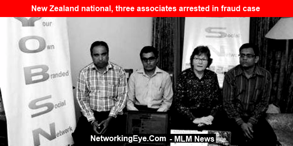 New Zealand national, three associates arrested in fraud case