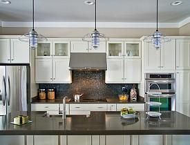 installing pendant lights over kitchen island # 13