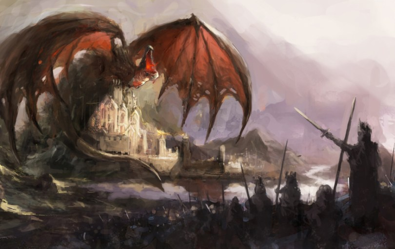 Epic Fantasy contest   The New Authors Fellowship Dragon Castle