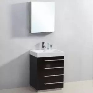 "24"" Modern Bathroom Vanity Virtu BAILEY 24"", JS-50524"