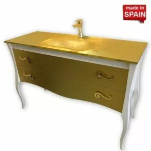 48-Inch MODERN BATHROOM VANITY ESTRELLA SOCIMOBEL MADE IN SPAIN