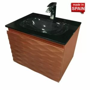Clovis Modern Bathroom Vanity 24-in Socimobel Made in Spain