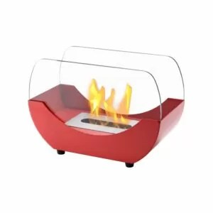Liberty Red Series - Ventless Tabletop Ethanol Fireplace