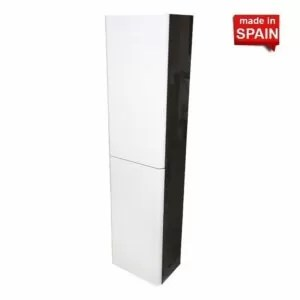 Side cabinet Yane Color Glossy White Glossy Morengo Forje Socimobel Made in Spain