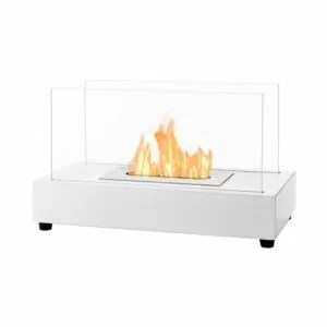 Tower White Series - Ventless Tabletop Ethanol Fireplace