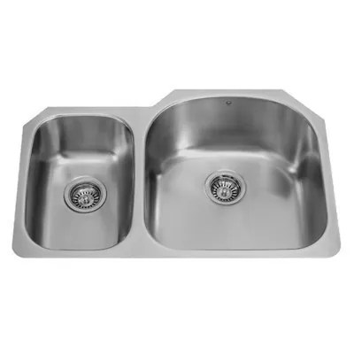 Vigo VG3121R 32-inch Undermount Stainless Steel 18 Gauge Double Bowl Kitchen Sink