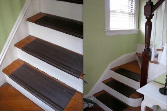 Diy Install A Colorful Stair Runner | Home Depot Stair Runners | Diy | Boards | Half Landing | Outdoor | Tread