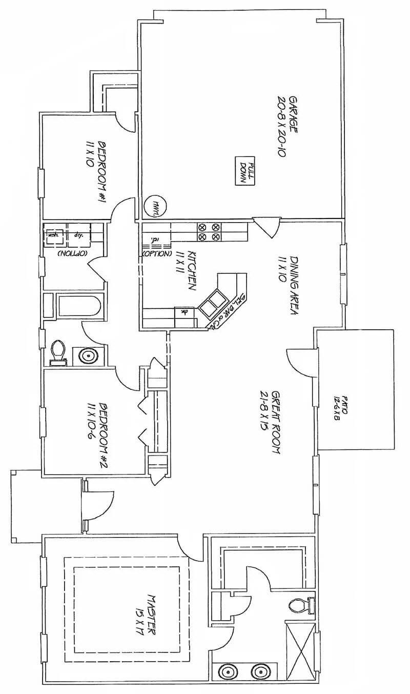 Bristol Pines 140s 200s Myrtle Beach Homes For Sale 10 Kw Williams Wall Furnace Wiring Diagram Randolphfloorplan Randolphfrontelevation